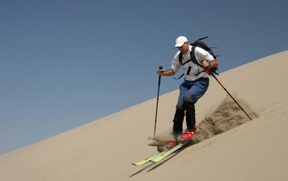 Le ski sur sable