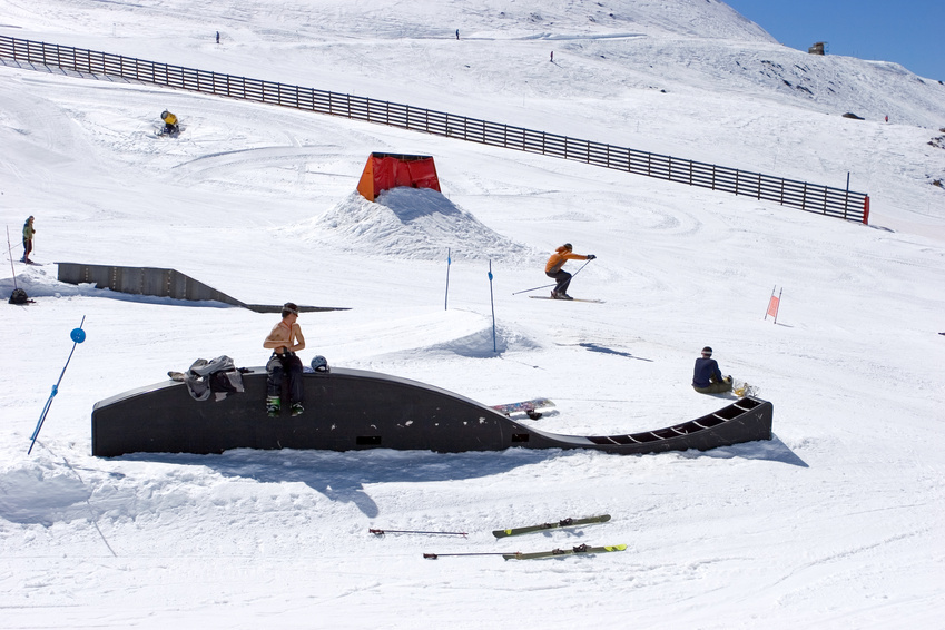 Où trouver des snowparks en France ?
